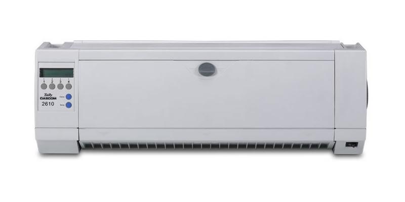 tallydascom 2610 serial printers