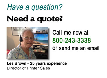 Call Les at 1-800-243-3338