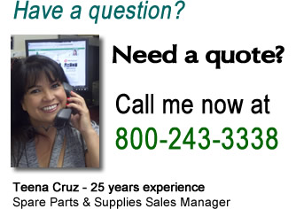 Call Teena at 1-800-243-3338